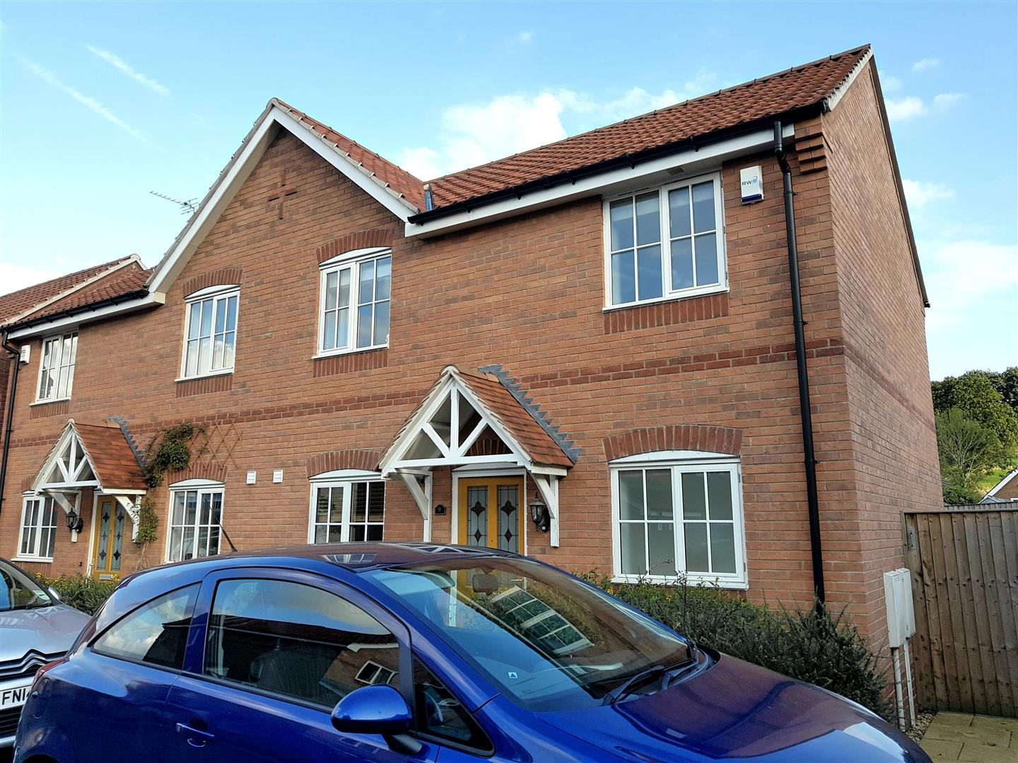 3 Bedrooms Semi Detached House for sale in Digby Court, Mansfield Woodhouse, Mansfield
